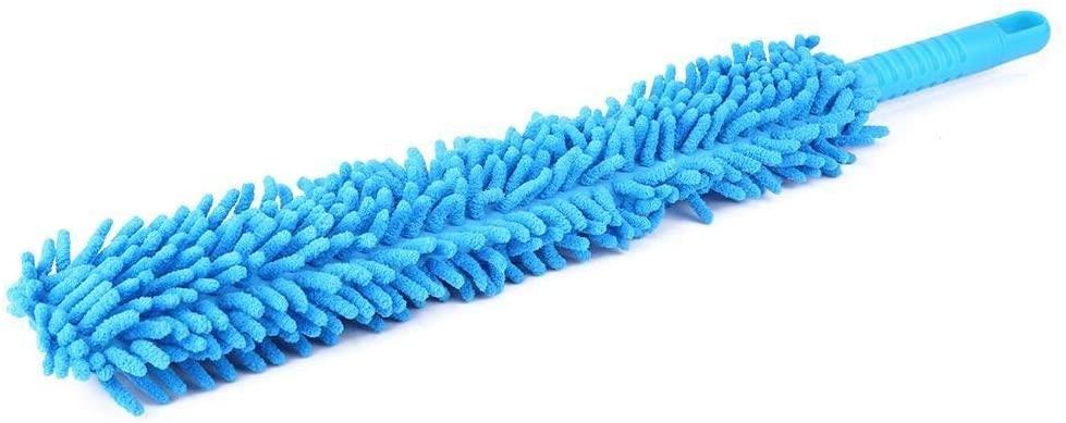 Enrilior Long Soft Flexible Microfiber Cleaning Brush Car Wash Tool Wheel Cleaner