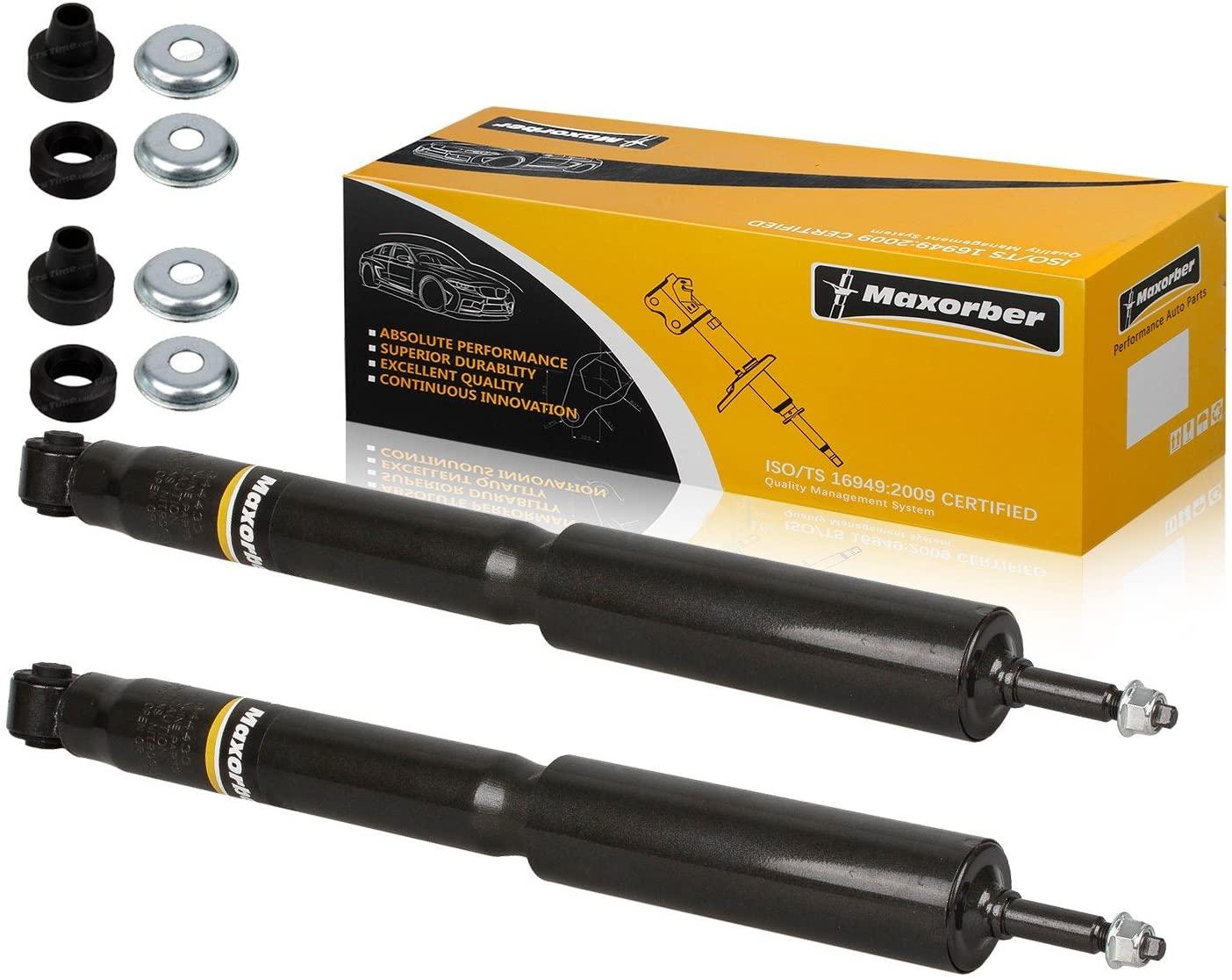 Maxorber Rear Set Shocks Struts Absorber Kit Compatible with Mustang 1994 1995 1996 1997 1998 1999 2000 2001 2002 2003 2004 Shock Absorber 344433 5968
