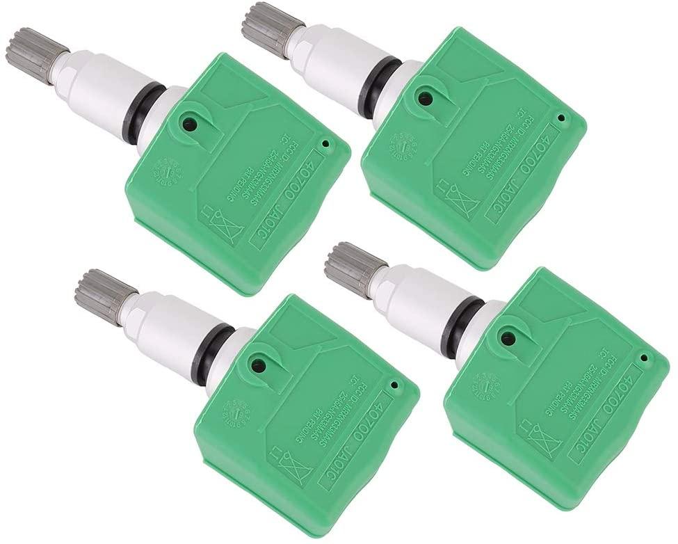 Gorgeri Tire Pressure Sensor,4pcs Tire Pressure Monitor Sensor 40700-JA01C Fits for EX35 2011-2012
