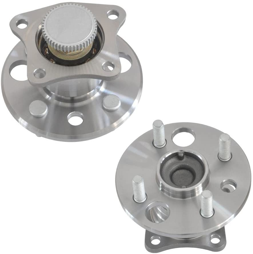 DRIVESTAR 42450-12030x2 Pair:2 New Front Wheel Hub & Bearing w/ABS for 93-95 Geo Prizm for Toyota Corolla