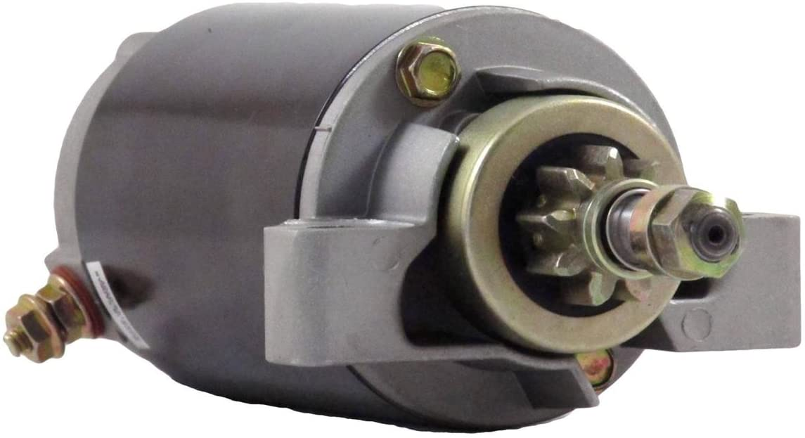 Rareelectrical NEW STARTER MOTOR COMPATIBLE WITH 2001-2009 MERCURY ENGINE 60ELHPT 60ELPT 50-888161T 186435