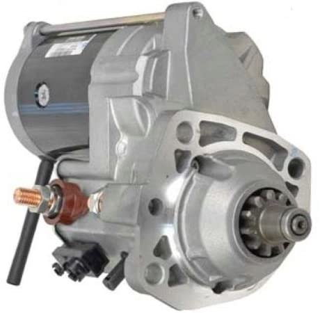 Rareelectrical NEW 7.5KW 11 TOOTH STARTER MOTOR COMPATIBLE WITH TIMBERJACK FELLER BUNCHER 850 950 DIESEL 228000-7410