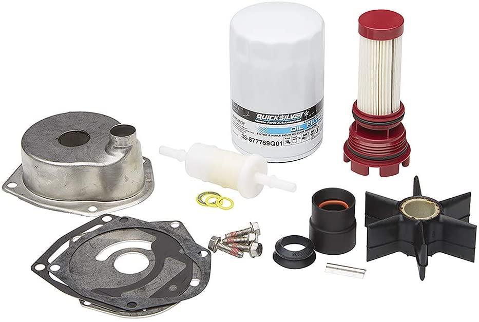 Quicksilver 8M0170714 Outboard Service Repair Kit — Mercury 200 HP to 400 HP Verado FourStroke S/N 2B144122 & Below