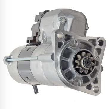 Rareelectrical NEW 12V STARTER COMPATIBLE WITH CASE TRACK LOADER 450CT 428000-9912 4280009912 428000-9910