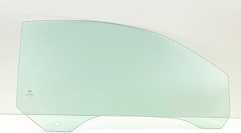 NAGD Passenger Right Side Door Glass Compatible with Volkswagen New Beetle 2 Door Convertible 2003-2010 Models