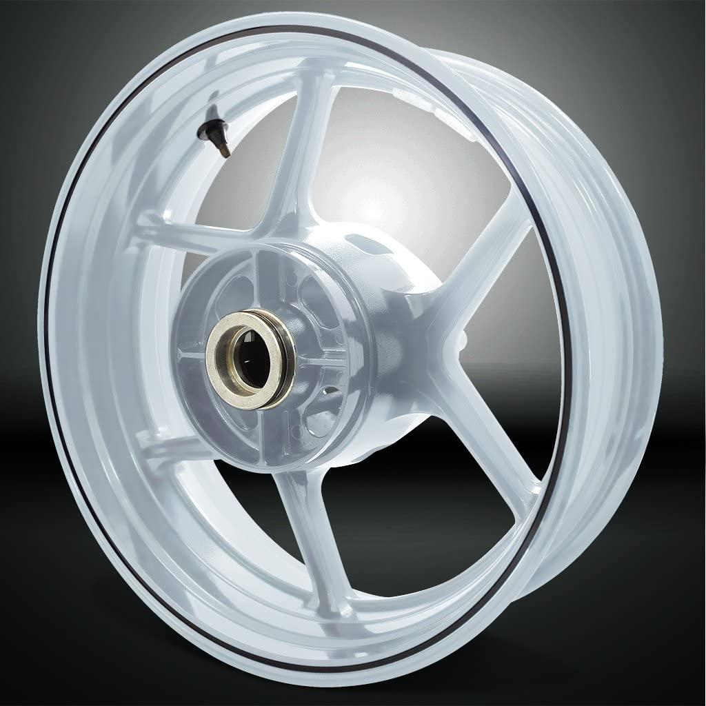 Thin Outer Rim Liner Stripe for Kawasaki Versys 650 Gloss Black