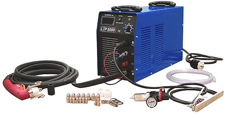 ATO Dual voltage 80A Plasma Cutter Welding Machine, 220V, Automatic Dual Frequency, Square-Wave Inverter Tig/Stick (MMA) Welder (1-phase(L,N,G))