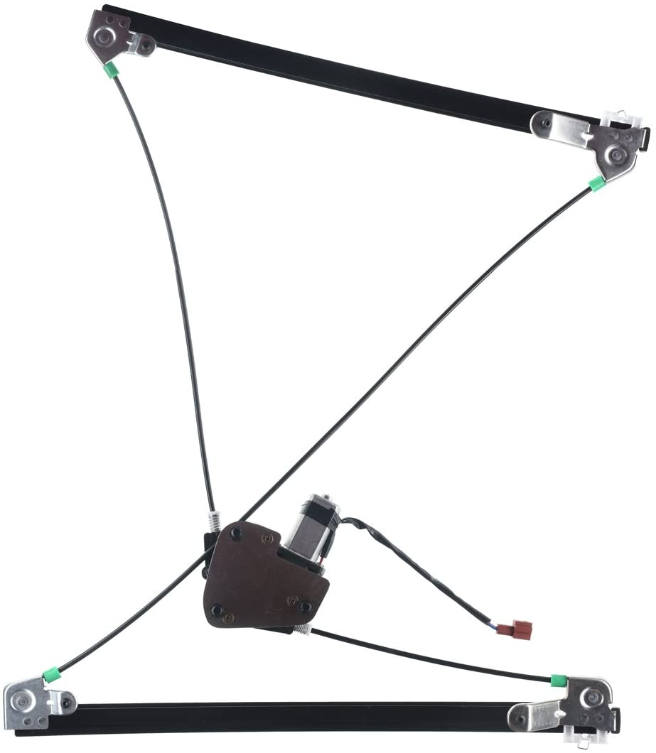 A-Premium Power Window Regulator and Motor Assembly Replacement for Town & Country Dodge Grand Caravan 1996-2000 Front Right Passenger Side