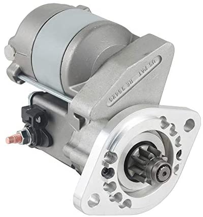 Rareelectrical NEW 12V 9T STARTER MOTOR COMPATIBLE WITH INTERNATIONAL TRACTOR 284 CUB CADET 028000-2890 0180020