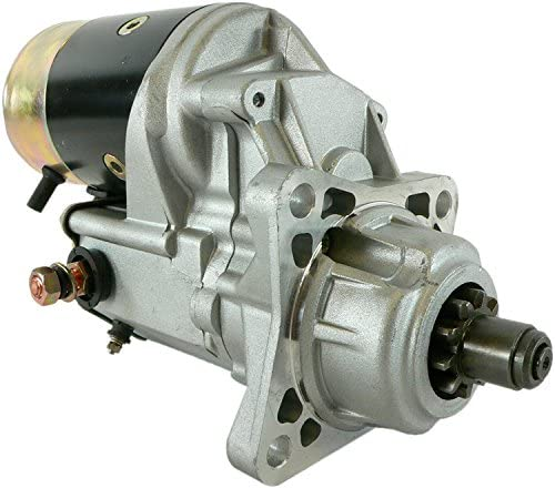 Rareelectrical NEW STARTER COMPATIBLE WITH HYSTER LIFT TRUCK PERKINS 1000-4 DIESEL 2280006400 228000-6401