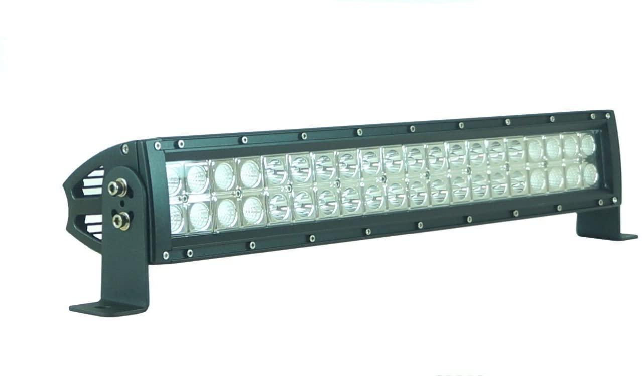 Bright Light Powersports RODF042120EP 12 120W Led Light Bar Flood / Spot Combo 3w/LED - 8400LM OFF ROAD