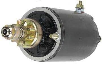 Rareelectrical NEW STARTER COMPATIBLE WITH EVINRUDE OUTBOARD E30TEL E35E E35EL 583473 583473 585059 20513536TBA 5071240 5701240M030SM 5704940