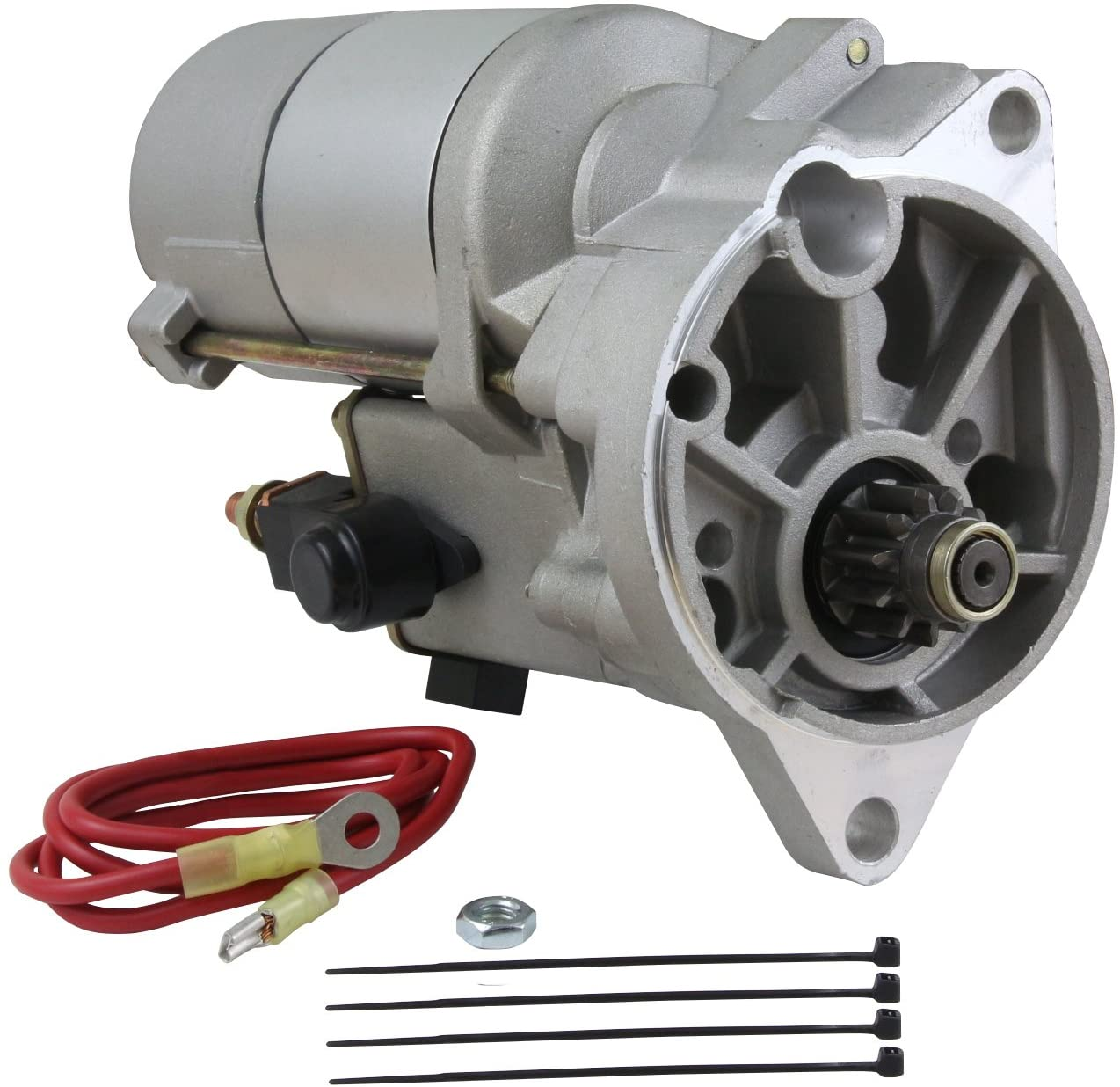 Rareelectrical NEW HIGH TORQUE GEAR REDUCTION STARTER COMPATIBLE WITH MERCURY COUGAR V8 D2AF-11001-CA