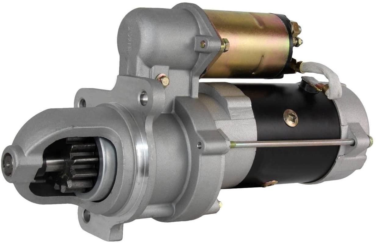 Rareelectrical NEW STARTER MOTOR COMPATIBLE WITH BOBCAT SKID STEER LOADER 980 CUMMINS 4BT3.9L DIESEL 10461448