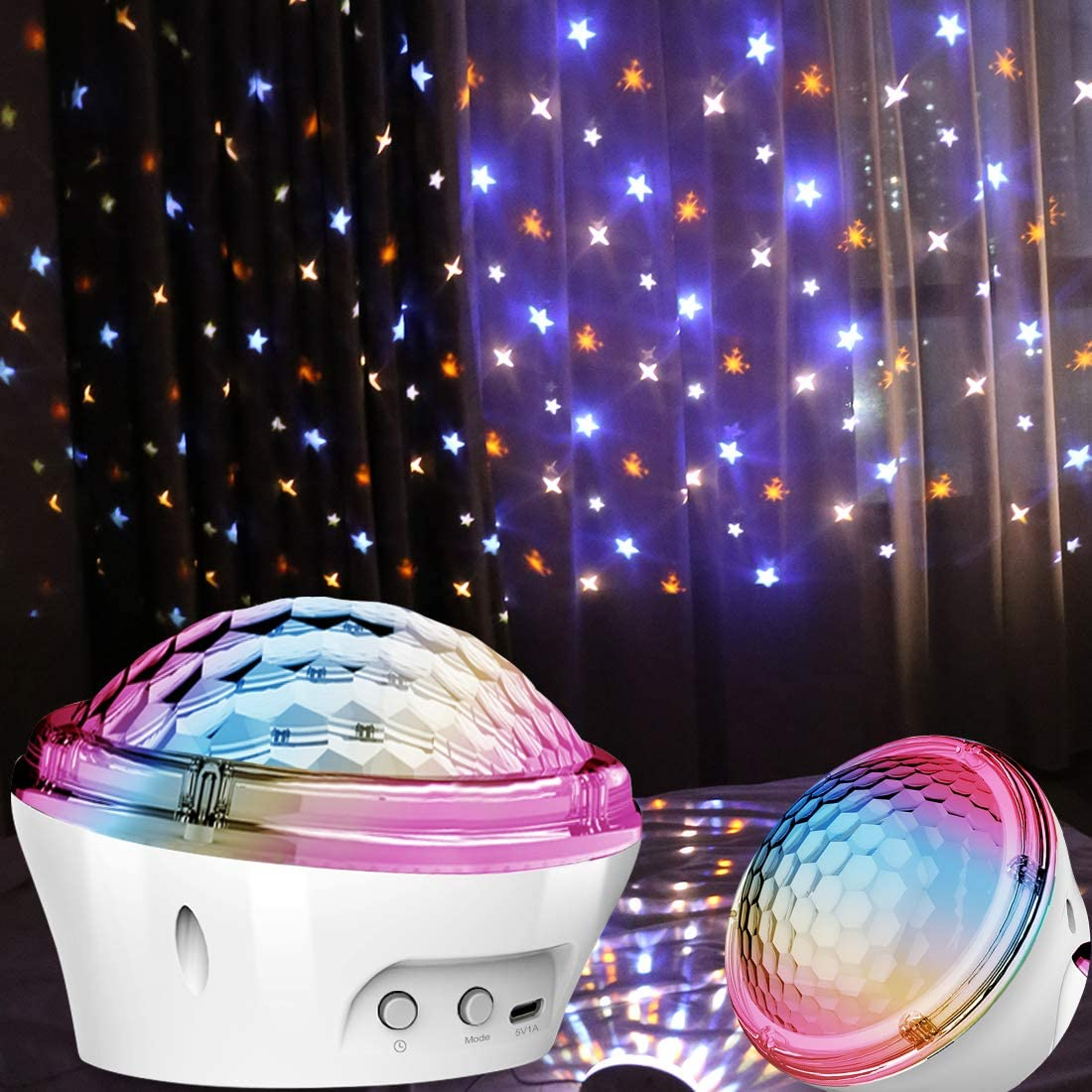 Star Projector Night Light, Starry Night LED Lights for Bedroom Room with 4 Modes and Timer Setting, Best Gift Choice for Kids Baby Children Women Men Indoor