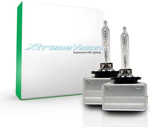 XtremeVision HID for 2013 Audi S5 (with Factory HID) Replacement HID Light Bulb 6000K- D3C / D3S / D3R