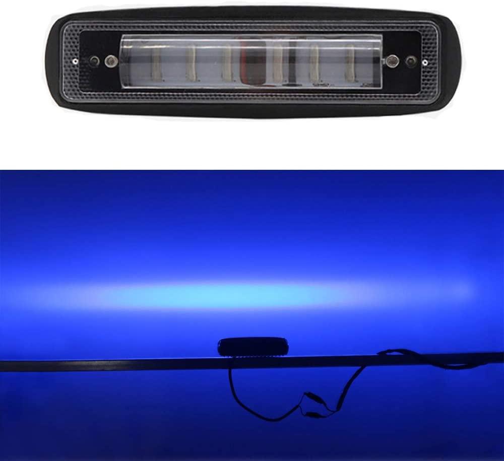 LED Forklift Light Side Line Marker Light Warning Spot Light 30W DC 12-80V Safety Light (Blue 1 Pack)