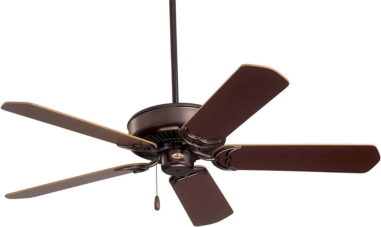 Emerson Ceiling Fans CF755ORB Designer 52-Inch Energy Star Ceiling Fan, Light Kit Adaptable, Oil Rubbed Bronze Finish
