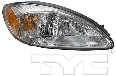 For 2000-2007 Ford Taurus Headlight Passenger Side CAPA Certified Bulbs Included FO2503169 - Replaces 1F1Z 13008 AA