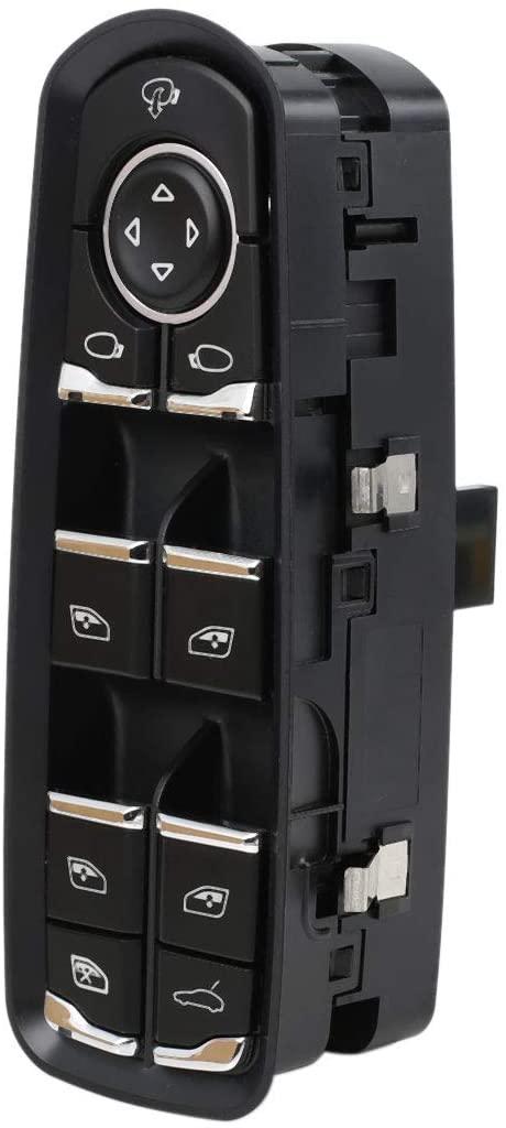 uxcell Front Left Power Door Window Switch 7PP959858RDML for Porsche Panamera 2010-2014