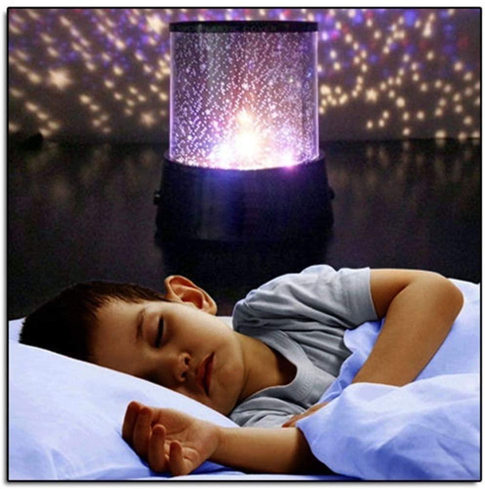 Euone 🦄 Night Light, Amazing LED Starry Night Sky Projector Lamp Star Light Cosmos Master Kids Gift