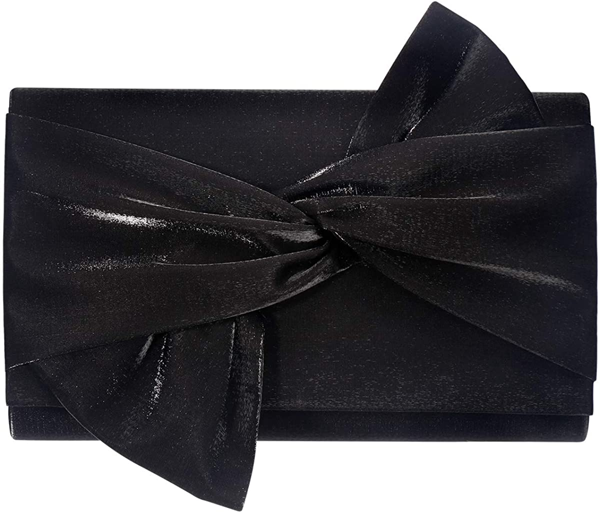 Satin Clutch purse evening bag women party wedding handbag