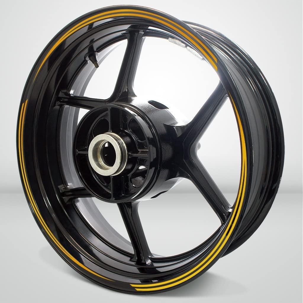 Vector Outer Rim Liner Stripe for Suzuki SV650 Reflective Yellow