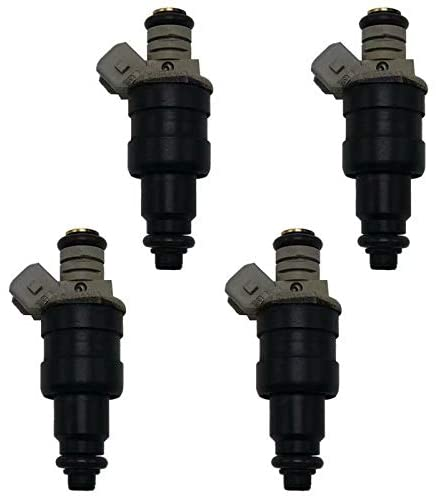 EMIAOTO Set 4 OEM Fuel Injector 9179379 for 1998-1999 Volvo S40 V40 B4194T B4204T