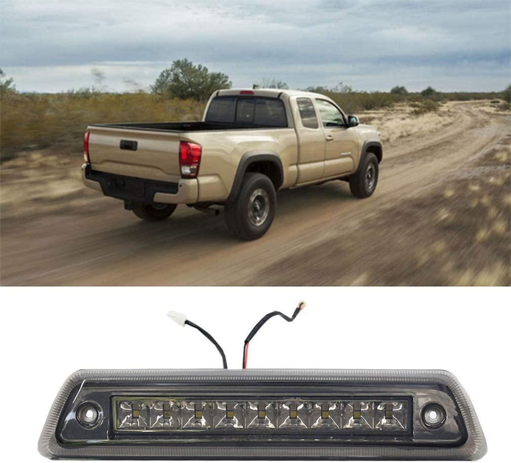 Pickup Truck 3rd Brake Light Lamp LED Third Brake Light Fit for 09-14 Ford F150 Reverse Brake Light Bulbs(Black Cover