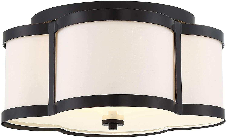 Savoy House 6-2706-3-44 Lacey 3-Light Bronze Semi Flush (16