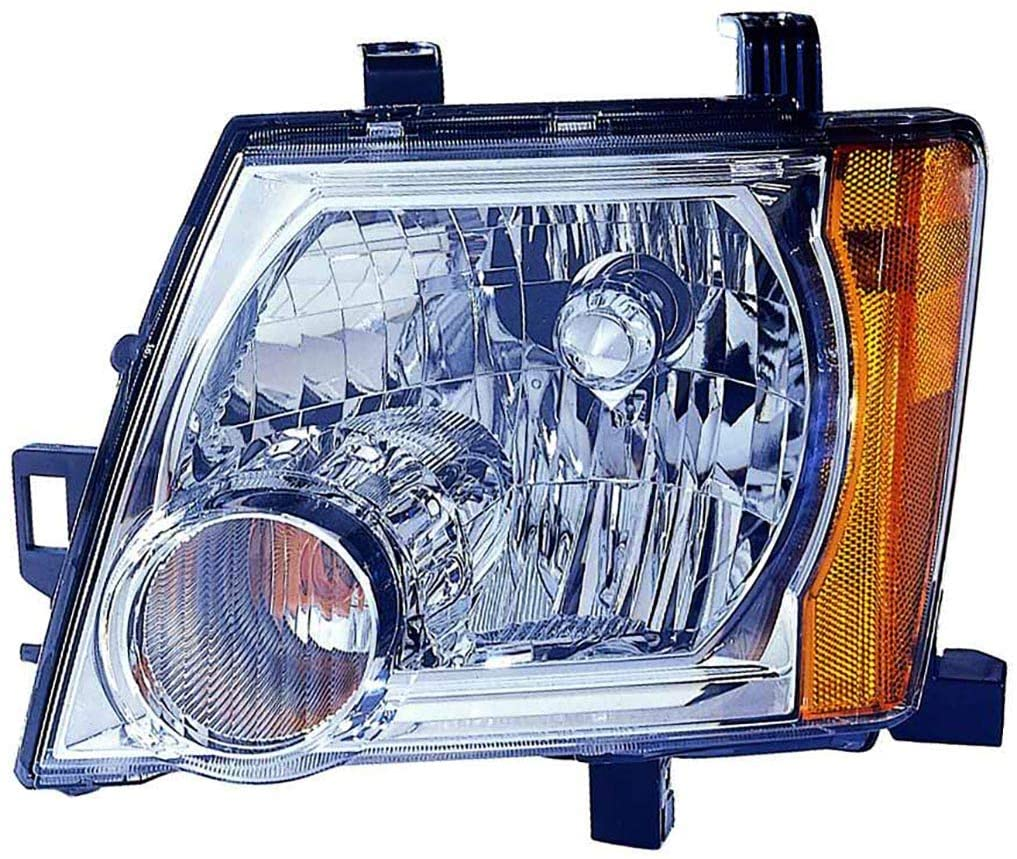 For Nissan Xterra 05-12 Headlight Assembly (8/1/08-10 Off Road.SE Model/11-12 PRO-4X.SV Model) Driver Side (CAPA Certified)