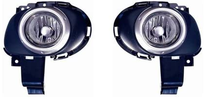 For Mazda 3 Hatchback 2004-2006 Foglight Assembly Pair Driver and Passenger Side
