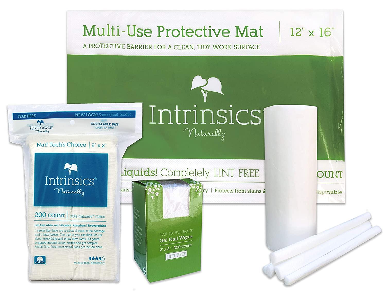 Intrinsics Premium Mani-Pedi Pro Bundle (With Multi-Use Protective Mat)