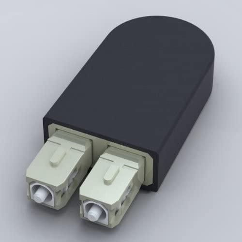 Ultra Spec Cables SC Fiber Optic Multimode 50/125 Loopback Adapter