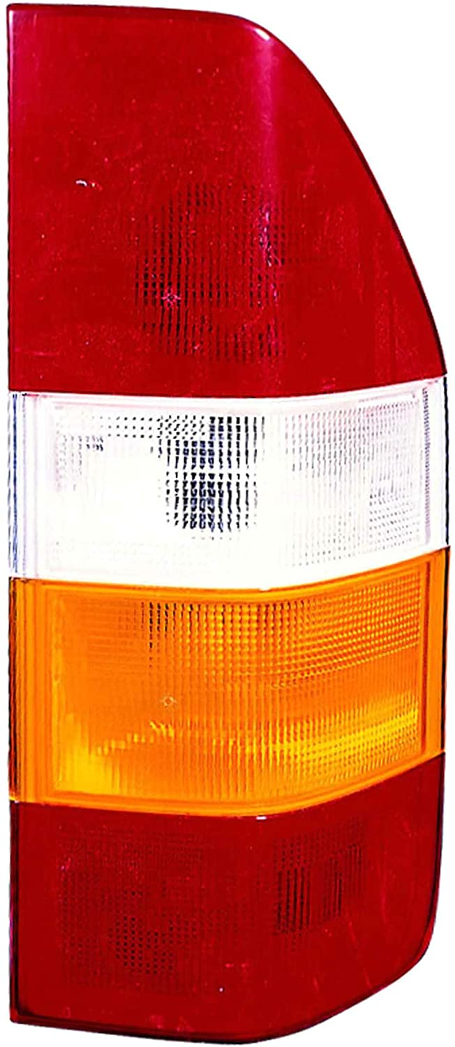 JP Auto Outer Tail Light Compatible With Dodge Sprinter 2003 2004 2005 2006 Passenger Right Side Taillamp