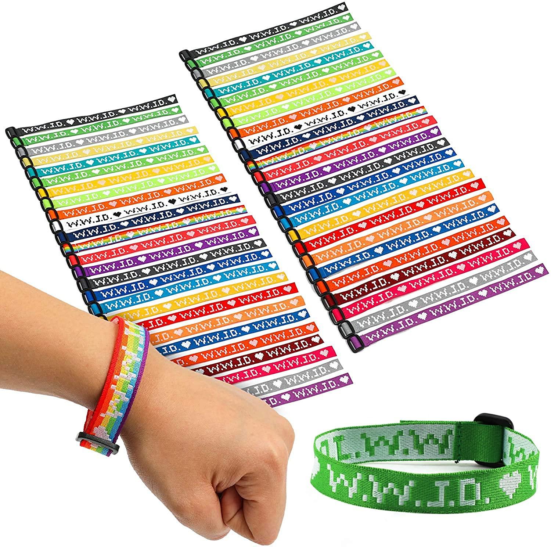 Zodaca WWJD, What Would Jesus Do Bracelet Pack (52 Pack)