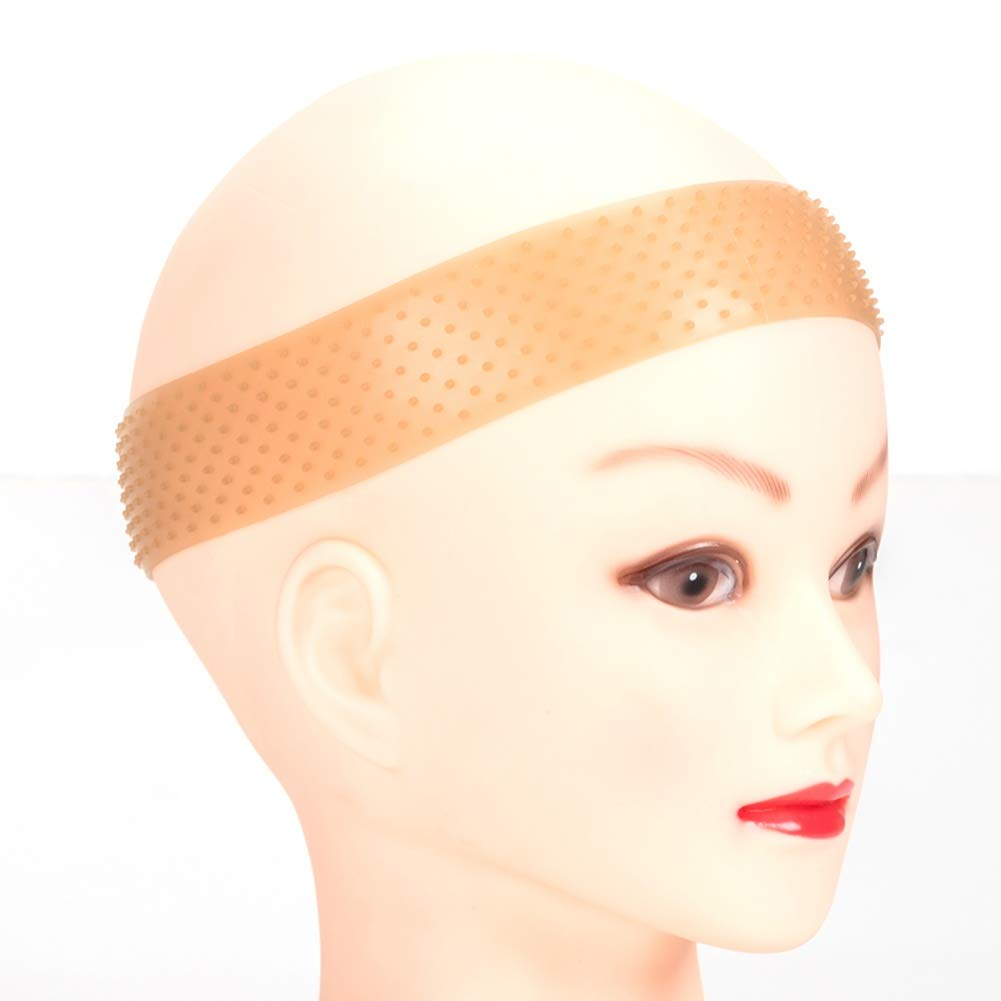 ETOSELL Silicone Wig Band Headband Transparent Non Slips Unisex Elastic Wig Band Lace Wig Grip Hair Band Sports Yoga Comfortable And Safe Wig Band