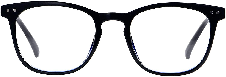 Blue Light Blocking Glasses Women Men Computer Small Face Clear Bluelight Blocker Eyeglasses Frame ANDWOOD AR001
