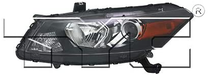 For 2011-2012 Honda Accord Headlight Driver Side CAPA Certified Bulbs Included HO2502141 - Replaces 33150-TE0-A11 ;Coupe