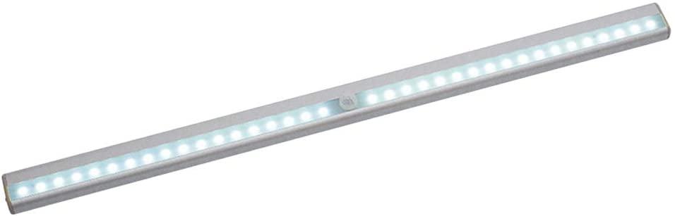 Uonlytech LED Closet Light USB Rechargeable lamp Motion Sensor Wireless for Cabinet Wardrobe Kitchen Hallway(White)