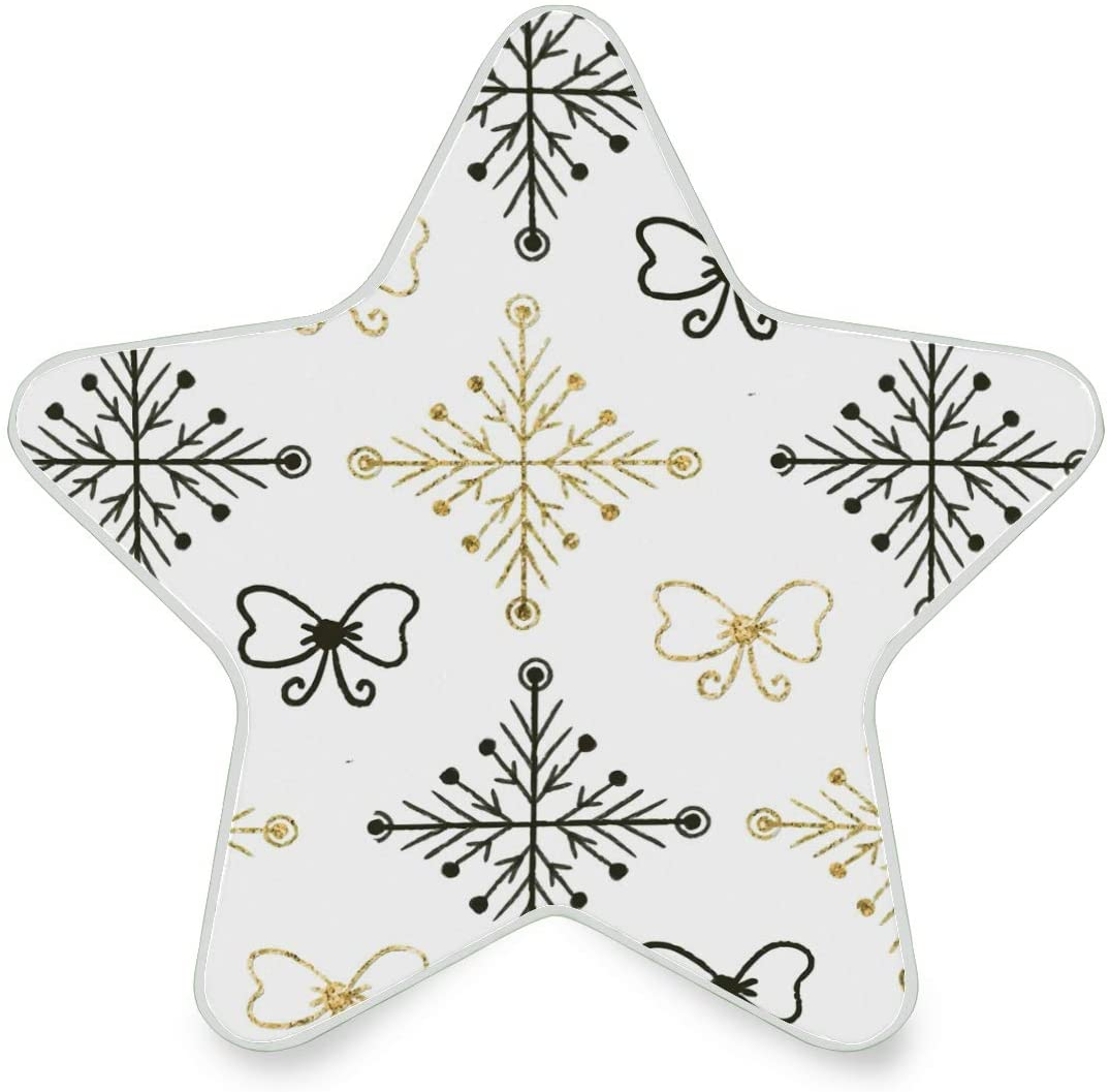 LED Night Light Star ShapeUltra-Slim, and Cool-Touch Dusk to Dawn Sensor Night Lamp Christmas Tree Kids Adults and Nursery Decor Night Light