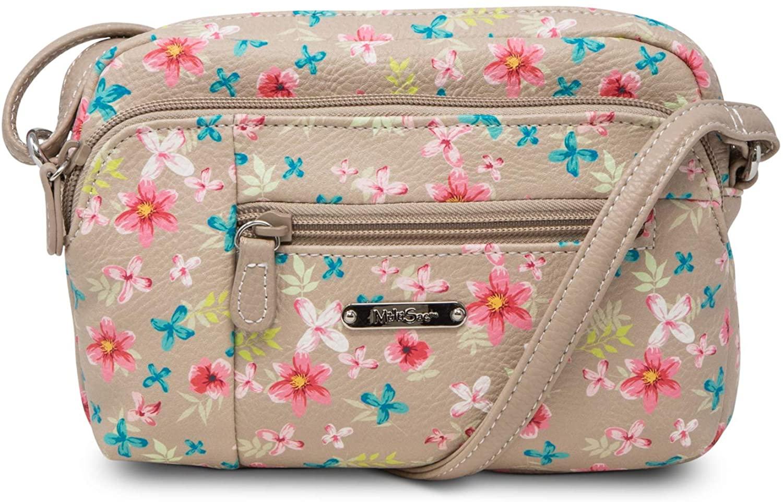MultiSac Womens Mini Dynamic Crossbody Bag