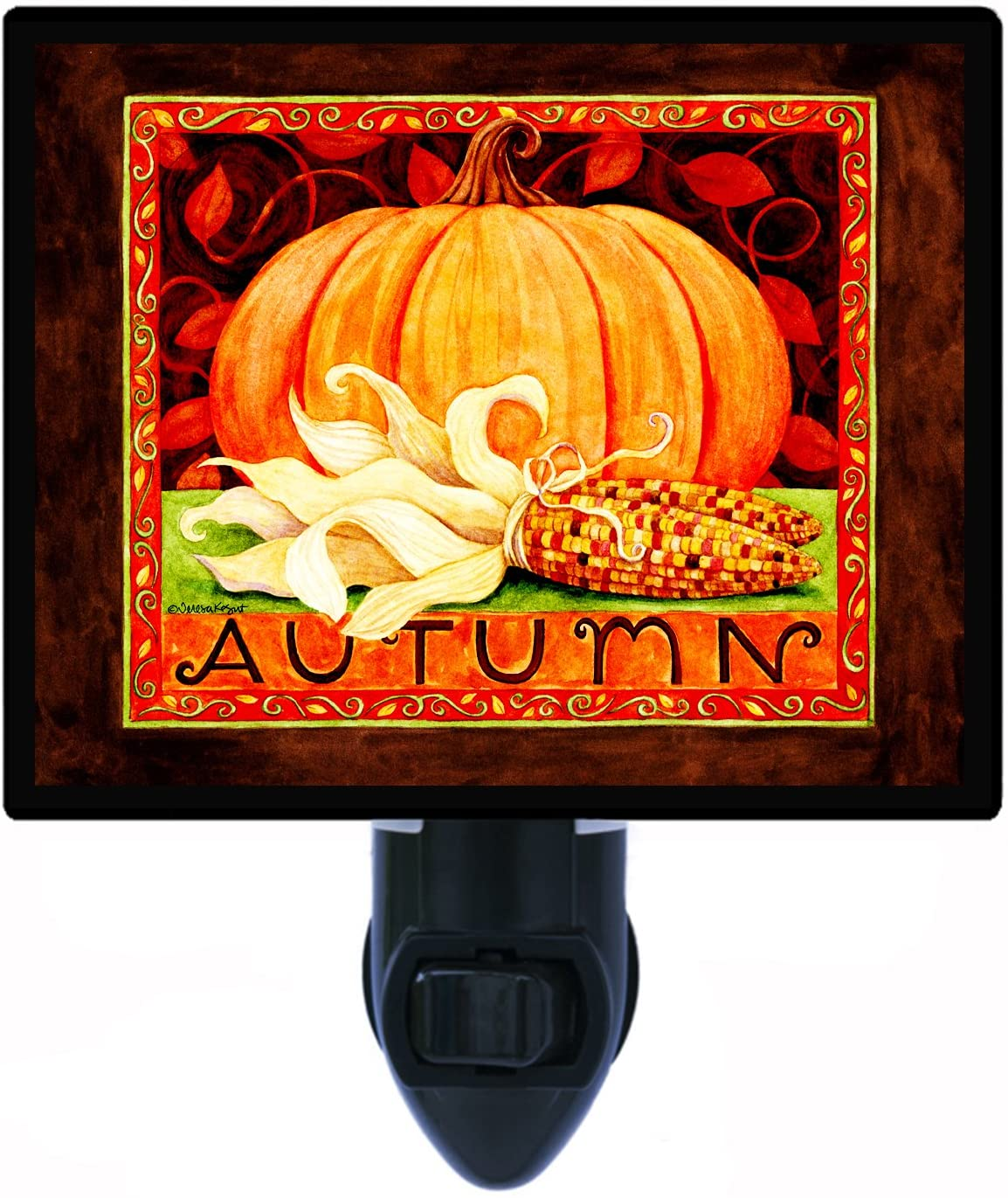Fall and Autumn Night Light, Autumn, Pumkpin LED Night Light