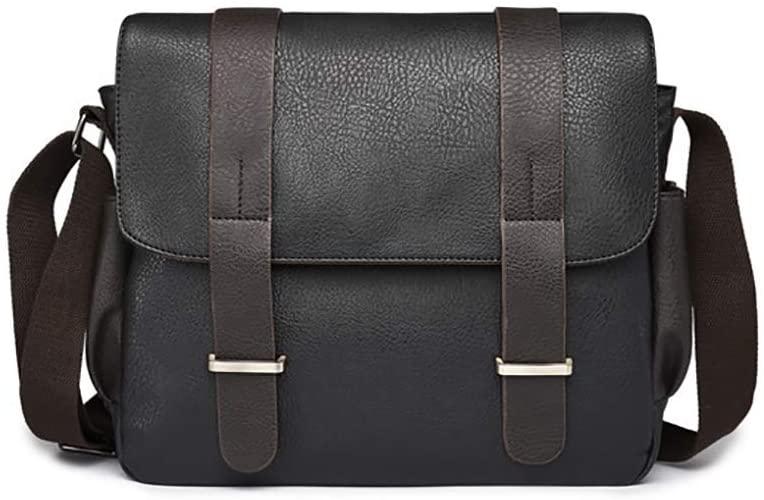 Messenger Bag For Men Classic Faux Leather Crossbody Male Shoulder Bags Casual Men's Handbags