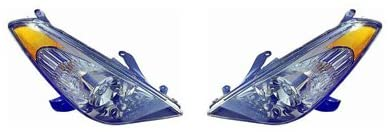 CarLights360: For 2004 2005 2006 TOYOTA SOLARA Head Light Pair Driver and Passenger Side W/Bulbs Replaces TO2502152 TO2503152