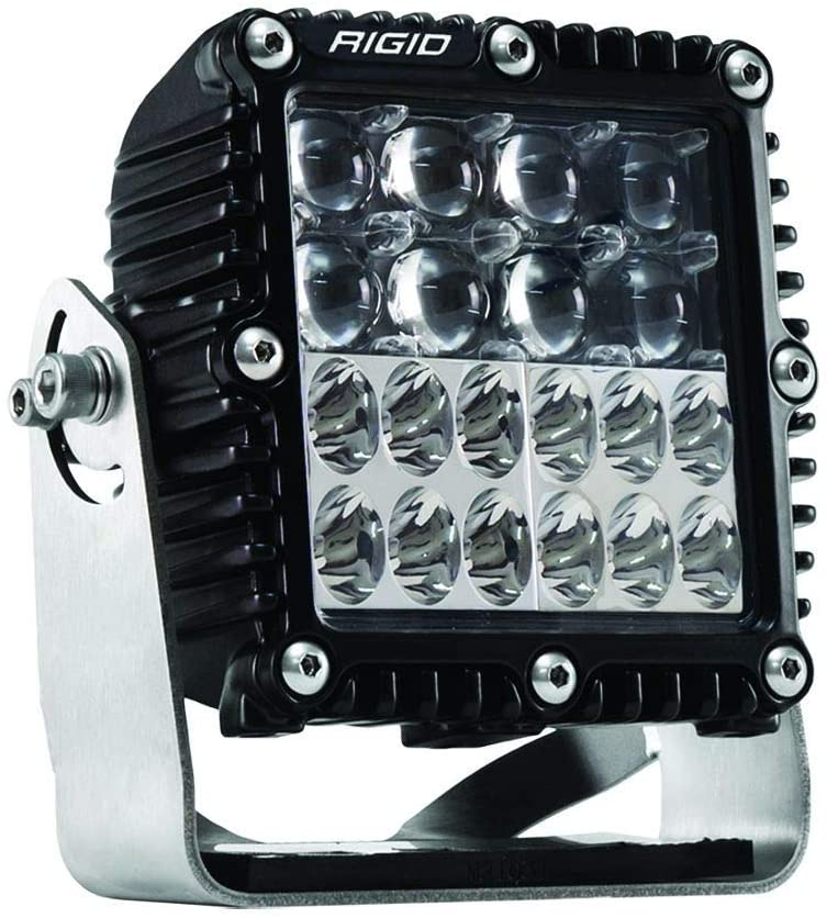 RIGID 544813 Q-SERIES PRO HYPERSPOT/DRIVING COMBO SURFACE MOUNT SINGLE LIGHT, 544813