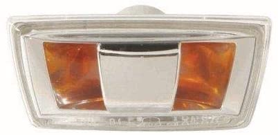 Go-Parts - for 2007 - 2009 Saturn Aura Turn Signal Light Assembly / Lens Cover - Front Left (Driver) Side - (Gas Hybrid) 15249471 GM2530133 Replacement 2008