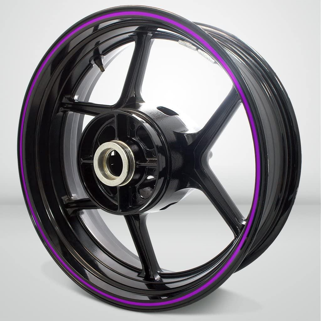 Thin Outer Rim Liner Stripe for Suzuki SV650 Matte Purple