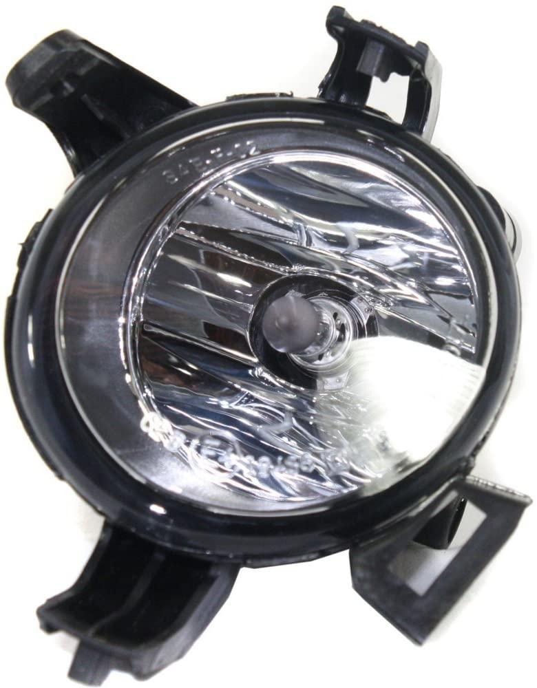 Evan-Fischer EVA12872030346 Clear Lens Fog Light for 2005-06 Nissan Altima LH CAPA Plastic Lens w/Bulb