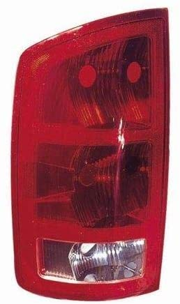 Go-Parts - for 2002 - 2006 Dodge Ram 2500 Rear Tail Light Lamp Assembly / Lens / Cover - Left (Driver) Side 55077347AF CH2800147 Replacement 2003 2004 2005